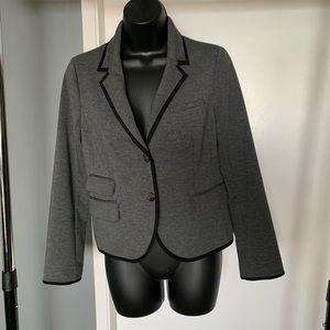 like new Gap grey/black button up blazer (6/$14)